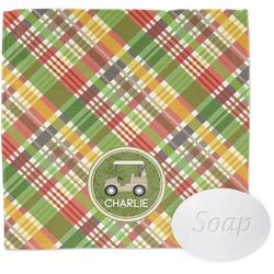 Golfer's Plaid Wash Cloth (Personalized)