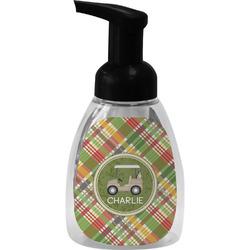 Golfer's Plaid Foam Soap Dispenser (Personalized)