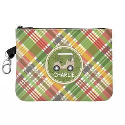 Golfer's Plaid Golf Accessories Bag (Personalized)