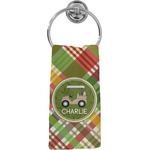 Golfer's Plaid Hand Towel - Full Print (Personalized)