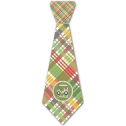 Golfer's Plaid Iron On Tie (Personalized)