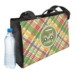 Golfer's Plaid Ladies Workout Bag (Personalized)
