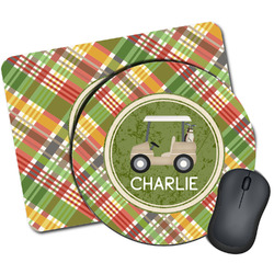 Golfer's Plaid Mouse Pads (Personalized)