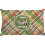Golfer's Plaid Pillow Case (Personalized)