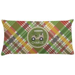 Golfer's Plaid Pillow Case (Personalized)