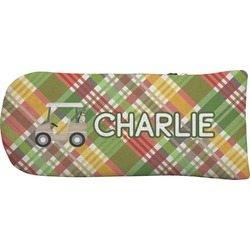 Golfer's Plaid Putter Cover (Personalized)