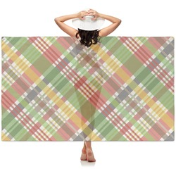 Golfer's Plaid Sheer Sarong (Personalized)