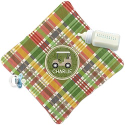Golfer's Plaid Security Blanket (Personalized)