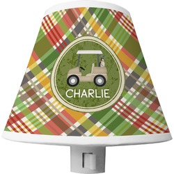 Golfer's Plaid Shade Night Light (Personalized)