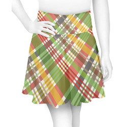 Golfer's Plaid Skater Skirt (Personalized)