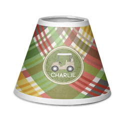 Golfer's Plaid Chandelier Lamp Shade (Personalized)