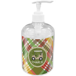 Golfer's Plaid Soap / Lotion Dispenser (Personalized)