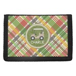 Golfer's Plaid Trifold Wallet (Personalized)