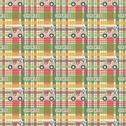 Golfer's Plaid Wrapping Paper (Personalized)