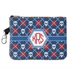 Knitted Argyle & Skulls Golf Accessories Bag (Personalized)