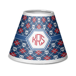 Knitted Argyle & Skulls Chandelier Lamp Shade (Personalized)