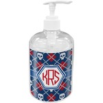 Knitted Argyle & Skulls Soap / Lotion Dispenser (Personalized)