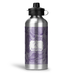 Sea Shells Water Bottle - Aluminum - 20 oz (Personalized)