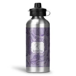 Sea Shells Water Bottle - Aluminum - 20 oz (Personalized)