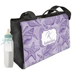 Sea Shells Diaper Bag (Personalized)