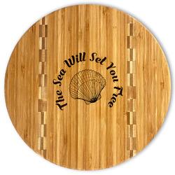 Sea Shells Bamboo Cutting Board (Personalized)