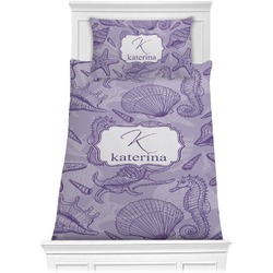 Sea Shells Comforter Set - Twin XL (Personalized)
