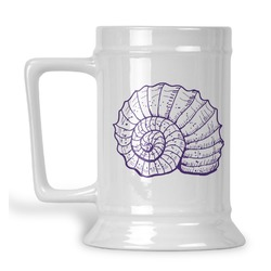 Sea Shells Beer Stein (Personalized)