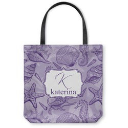 Sea Shells Canvas Tote Bag (Personalized)