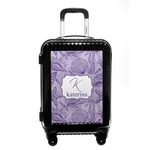 Sea Shells Carry On Hard Shell Suitcase (Personalized)