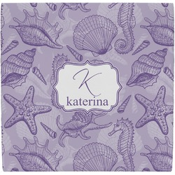 Sea Shells Ceramic Tile Hot Pad (Personalized)