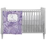 Sea Shells Crib Comforter / Quilt (Personalized)