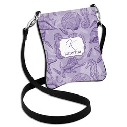Sea Shells Cross Body Bag - 2 Sizes (Personalized)
