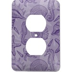 Sea Shells Electric Outlet Plate (Personalized)