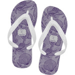 Sea Shells Flip Flops (Personalized)
