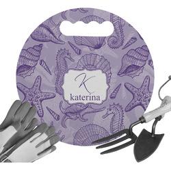 Sea Shells Gardening Knee Cushion (Personalized)