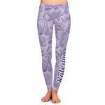 Sea Shells Ladies Leggings (Personalized)