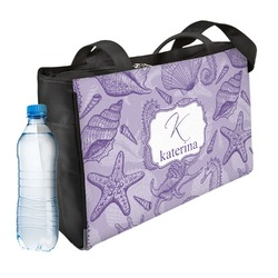 Sea Shells Ladies Workout Bag (Personalized)