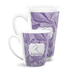 Sea Shells Latte Mug (Personalized)