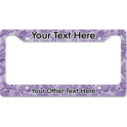 Sea Shells License Plate Frame (Personalized)