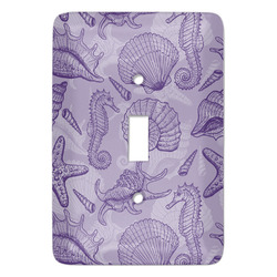 Sea Shells Light Switch Covers - Multiple Toggle Options Available (Personalized)