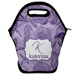 Sea Shells Lunch Bag w/ Name and Initial