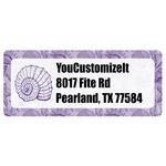 Sea Shells Return Address Labels (Personalized)
