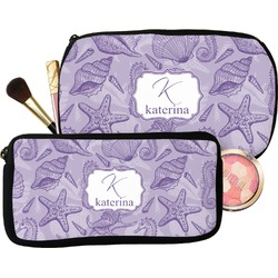Sea Shells Makeup / Cosmetic Bag (Personalized)