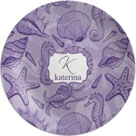 Sea Shells Melamine Plate (Personalized)