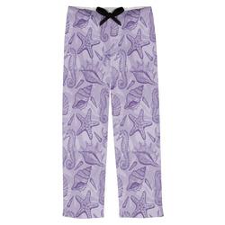 Sea Shells Mens Pajama Pants (Personalized)