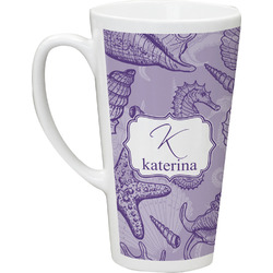 Sea Shells Latte Mug (Personalized)