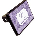 """Sea Shells Rectangular Trailer Hitch Cover - 2"""" (Personalized)"""