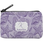 Sea Shells Rectangular Coin Purse (Personalized)