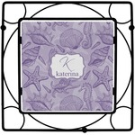 Sea Shells Square Trivet (Personalized)