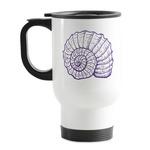 Sea Shells Stainless Steel Travel Mug with Handle